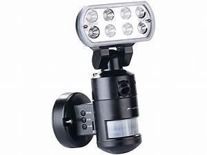 Lampe Mit Kamera Und Bewegungsmelder : visortech berwachungskammera hd ip kamera m led flutlicht 8 w bewegungsverfolgung sd aufz ~ Yasmunasinghe.com Haus und Dekorationen