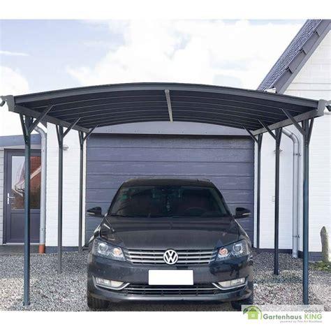 Aluminium Carport Falo Anthrazit Gartenhauskingde