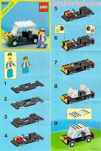 Lego 6633 Family Car Set Parts Inventory And Instructions