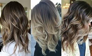 Fabulous Dark Hair With Blonde Highlights 2017