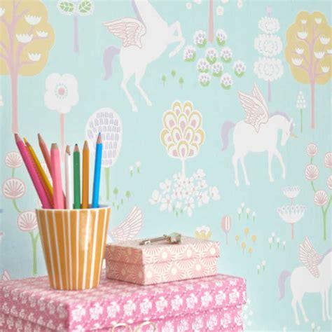 unicorn wallpaper  majvillan pink  mint nubie