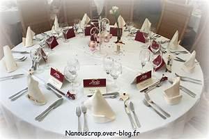 Decoration De Table De Mariage : menus de mariage le blog de nanou ~ Melissatoandfro.com Idées de Décoration