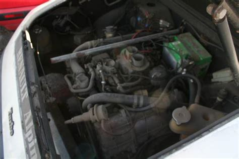 renault alpine a310 engine neglected in socal 1984 renault alpine a310 v6 bring a