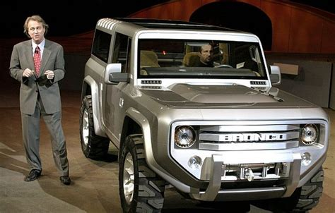 ford bronco  confirmed cars ford bronco