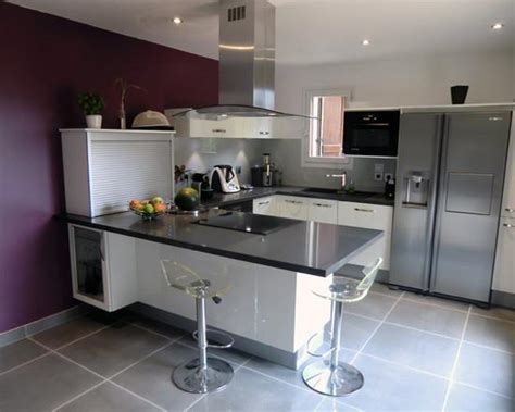cuisine en u ouverte cuisine en u moderne cusine complete meubles rangement