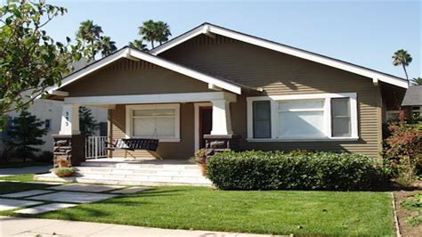 California Craftsman Bungalow Style Homes Old-style