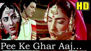 Pee Ke Ghar Aaj (HD) - Shamshad Begum - Mother India 1957 ...
