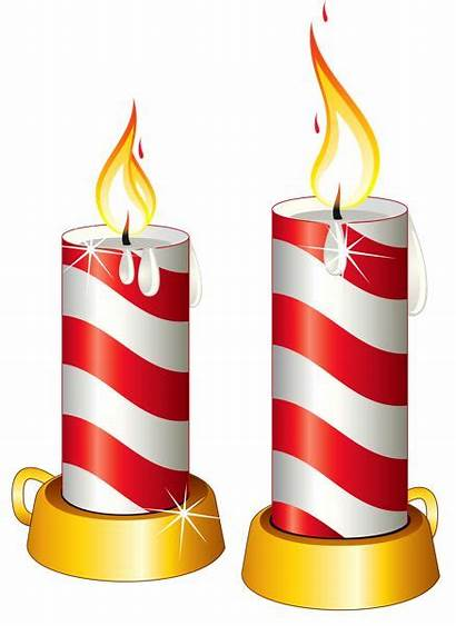 Candles Clipart Christmas Transparent Clip Candle Yopriceville