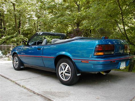 1992 Pontiac Sunbird Gt Convertible.