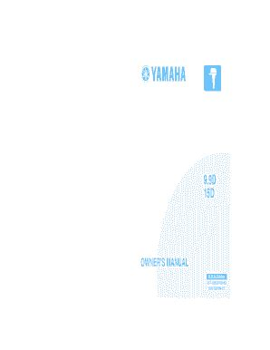 Scout Boats U S 78 Summerville Sc by Yamaha Owners Manual Sle Forms And Templates Fillable