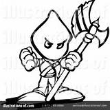 Executioner Clipart Template sketch template