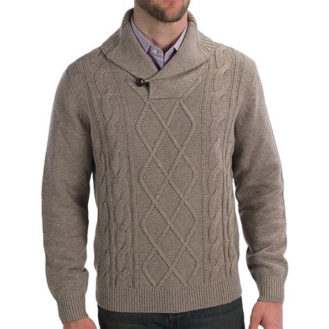 cable sweater mens toscano cable knit sweater for save 64