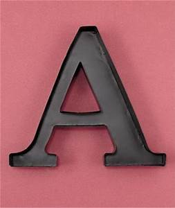 Metal monogram letter shaped initial wine cork holder wall for Metal letters for wine corks