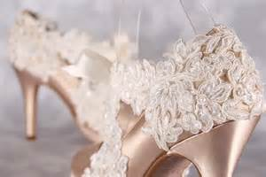 chagne colored wedding shoes chagne wedding shoes closed toe bridal heels with an