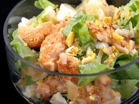 recette cuisine regime salade césar au poulet light recette de salade césar au