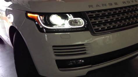 2013 ranger rover secret led headlight