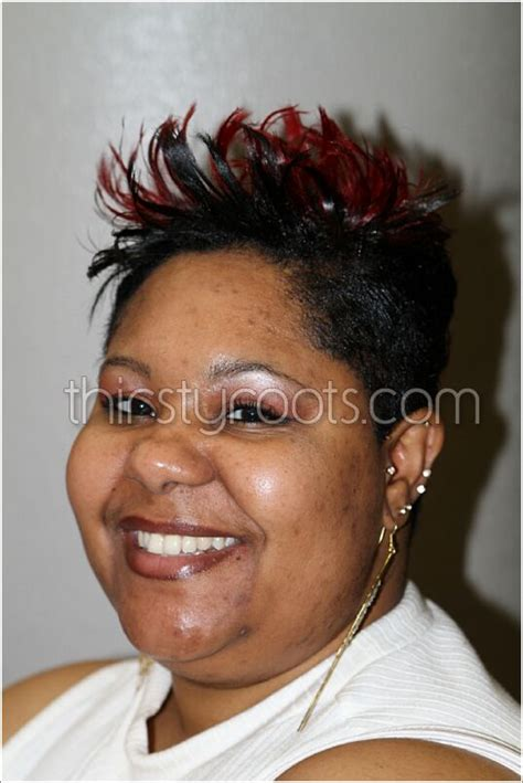 short relaxed hair cuts