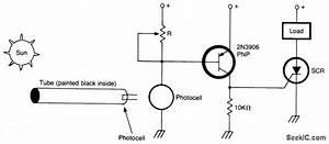 Sun Powered Alarm - Alarm Control - Control Circuit - Circuit Diagram