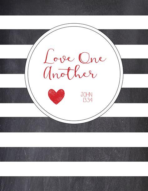 printable love   print matching banner