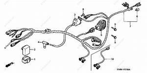 Honda Atv 2000 Oem Parts Diagram For Wire Harness