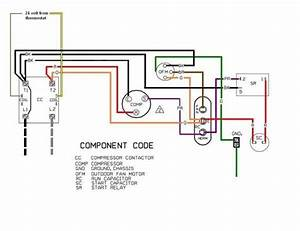 Rheem Condenser Fan Motor Electrical Diagram