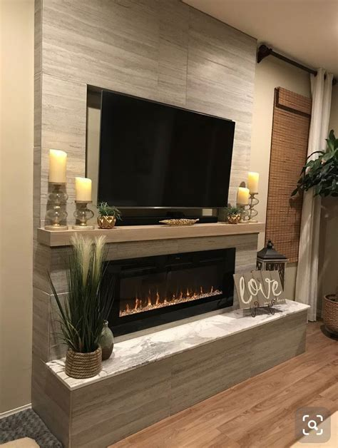 touchstone  sideline  recessed electric fireplace