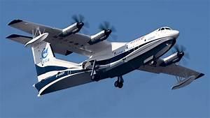 Chinese AVIC AG600 giant seaplane maiden flight - Seaplane ...
