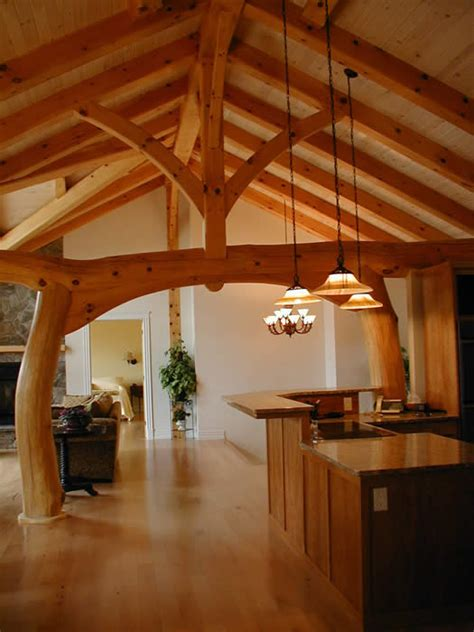 timber frame house   taiko beam built  memramcook