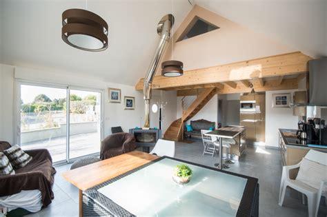 cuisine caen maison en ossature bois à côme de fresné calvados