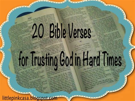 times  hard times bible quotes quotesgram