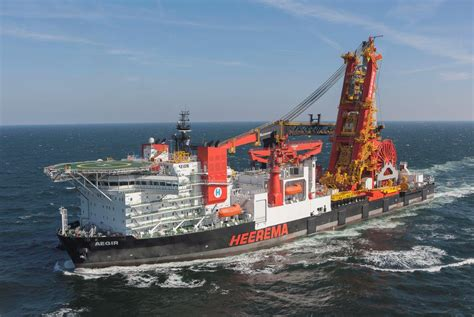 Heerema's New Heavy Lift Crane Vessel Wins Shipping Award