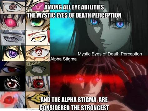 anime with eye powers anime character fights that everyone argues about anime