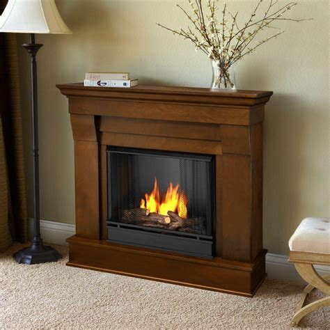 gel fuel fireplace real chateau 41 in ventless gel fuel fireplace in