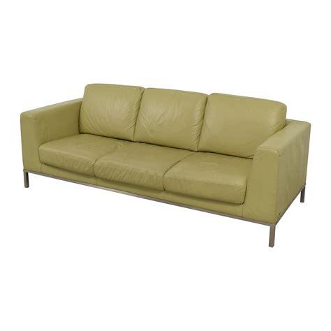 26 italsofa italsofa green leather sofa sofas
