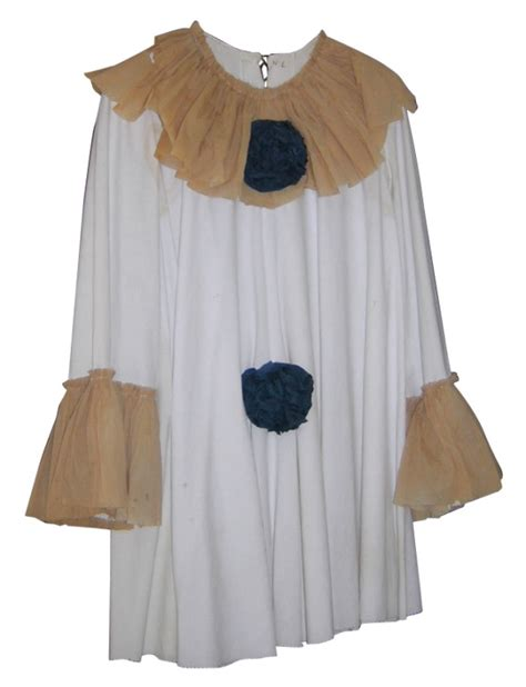vintage costume handmade crepe paper clown shirt costume costumes