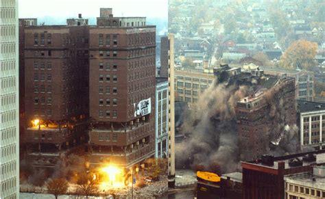 Project Portfolio - Explosive Demolition of the Ford Hotel ...