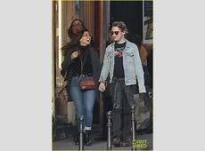 Macaulay Culkin & Brenda Song Cuddle Up & Kiss in New
