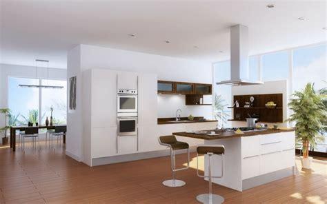 cuisine ouverte sur salle à manger et salon plan salon cuisine sejour salle manger 2 une cuisine