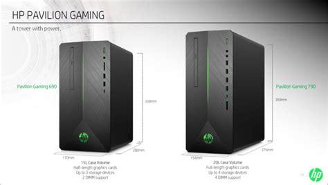 hp pavilion gaming desktops     intel