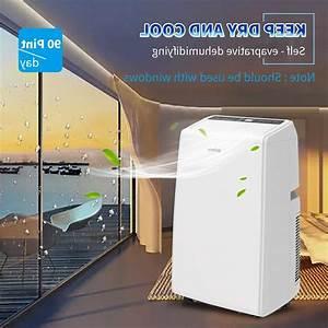 Shinco 12 000 Btu Portable Air Conditioner Dehumidifier