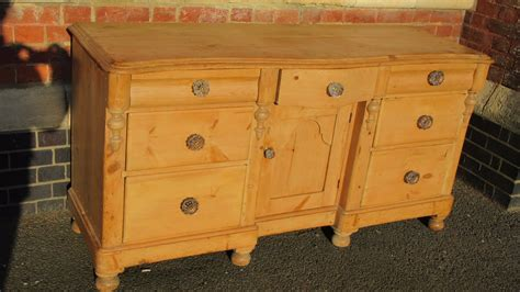 Antique Pine Sideboard by Antique Pine Sideboard C 1870 Hm66 La52109