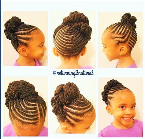 tresse africaine enfant tresses nappy hair