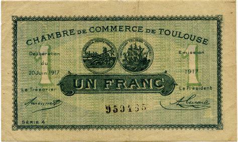 inscription chambre de commerce billets de la chambre de commerce de toulouse