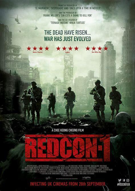 redcon zombie poster british trailer thriller