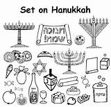 Vector Jewish Yarmulke Clip Illustrations Holiday Star Hanukkah Happy Text Hebrew Similar Vectors Sketch sketch template