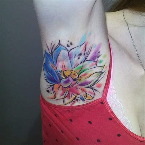 watercolor lotus tattoo  tattoo ideas gallery