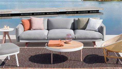 canapé terrasse salon de jardin canapé fauteuil bas et banquette