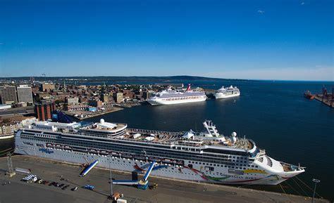 Cruise Ships @ Saint John New Brunswick Canada