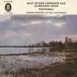Der Schönste Tag : film music site heut 39 ist der sch nste tag in meinem leben tiritomba soundtrack hans may ~ Eleganceandgraceweddings.com Haus und Dekorationen