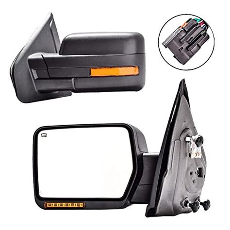 dedc towing mirrors ford f150 ford tow mirrors 2007 2014 pair import it all